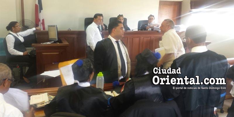 Chapman y La Tablita sentados de nuevo hoy en el banquillo de los acusados