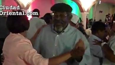 El Men bailando merengue.