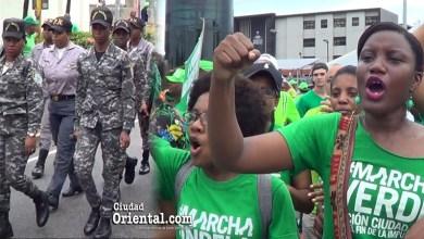 Las dos facetas d elas mujere sen la Marcha Verde del 16 de Julio 2017