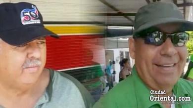 Buenaventura Bueno Morillo, (El Turi) (i) y Carlos Campusano, (El Bello)