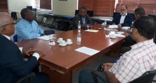 Miembros del Comité Ejecutivo del CDP reunidos en su sede