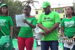 Portavoces de la Marcha Verde en SDE