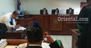 Primer Tribunal Colegiado de la provincia Santo Domingo (foto de archivo)