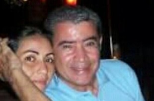 Ulises Rutinel junto a su hija Gabriela