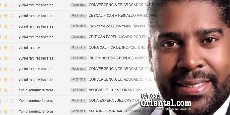 Los correos de Yuniol Ramírez: Desde ultratumba se levanta acusador - Tercera Parte