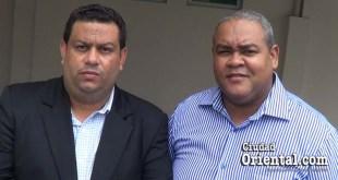 Rubén Céspedes (y) y Leonardo R. Belen Díaz