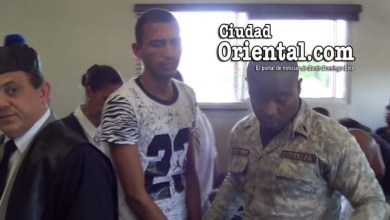 Jean Carlos Almanzar Ortiz, entre el fiscal y custodio