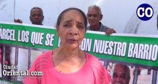 Ana Rodríguez Morillo, portavoz del Comité de Lucha por la Defensa de Los Tres Brazos