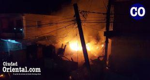 Fuego en Cancino Adentro