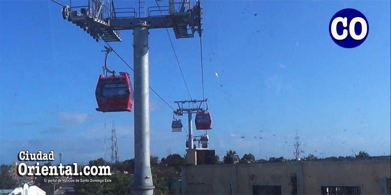 """""""Volando bajito"""" en el Teleférico de Santo Domingo +Vídeos"""