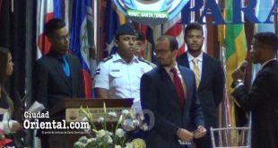 "Momento del ""arresto"" del Embajador de la Guayana Francesa"