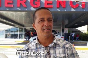 Clarense Veras, Director de Relaciones Públicas del Hospital Dr. Darío Contreras