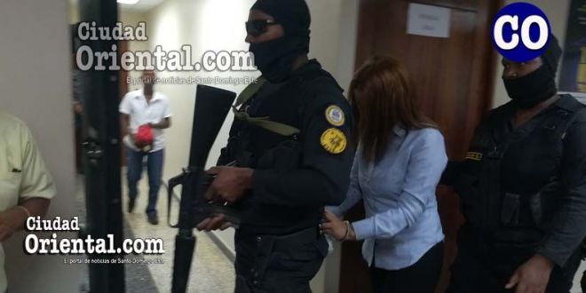 Heidy Carolina Peña, trasladada por custodios