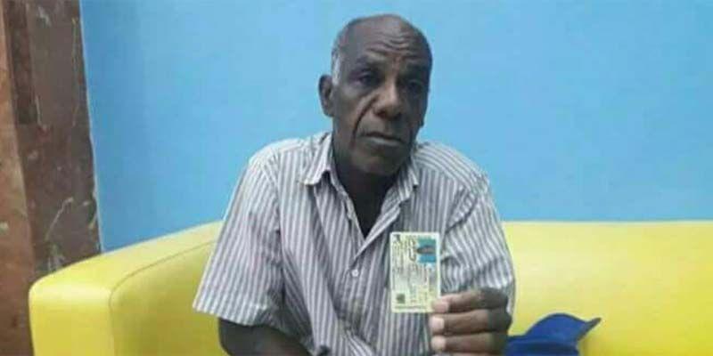 Este señor de Los Mina Viejo está extraviado y solicitan ayuda para encontrarlo
