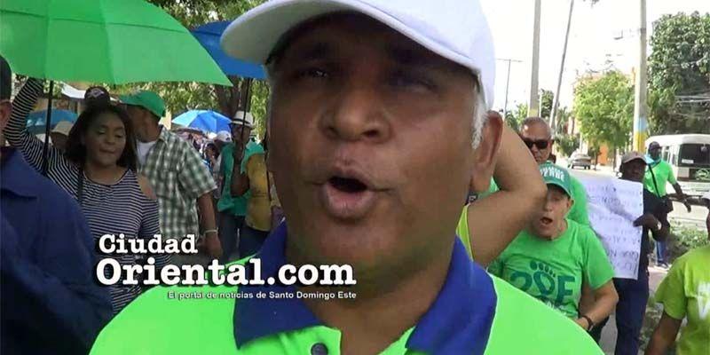 """Los """"luisistas"""" y Manuel Jiménez se unen en las luchas populares; los del H20 se aislan"""