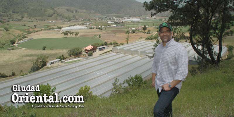 Otra faceta de Luis Alberto Tejeda: exitoso sembrador de ajíes, papas, tomates y pepinos, entre otros rubros + Fotos