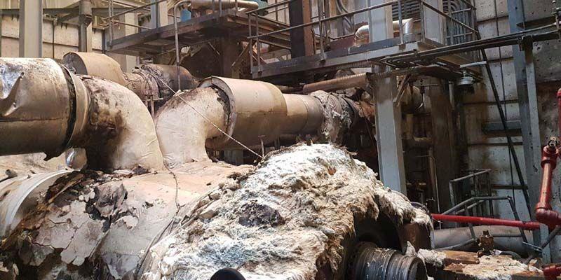 Filtran fotos de la explosión en la planta de AES en Andrés, Boca Chica