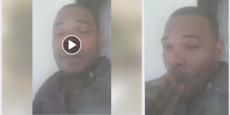 """Dirigente juvenil del PRM en SDE, Lenin Santana, transmite en directo en FaceBook fumando """"hookah"""""""