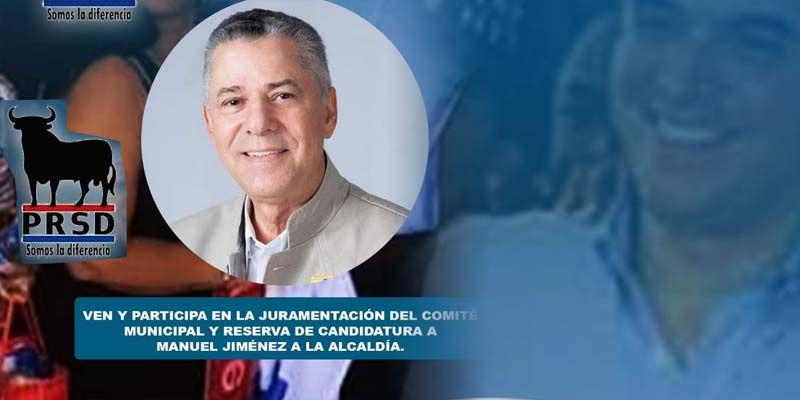 Manuel Jiménez será el candidato a síndico del ASDE por el partido del toro negro