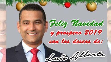 Photo of Mensaje de Navidad de Luis Alberto Tejeda