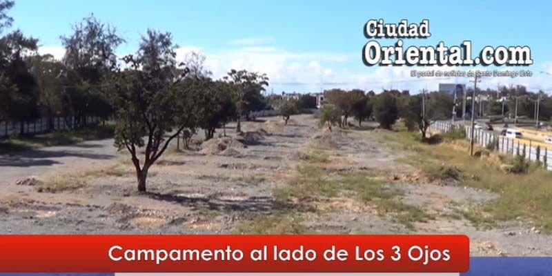 #Marchaverde instaló su campamento junto a Los Tres Ojos + Vídeos
