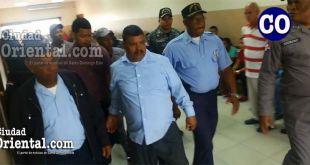 Los dos imputados en custodia policial.