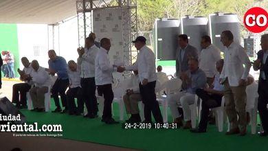 Photo of Último discurso de José Casimiro Ramos en presencia de Danilo Medina antes de ser removido del FEDA