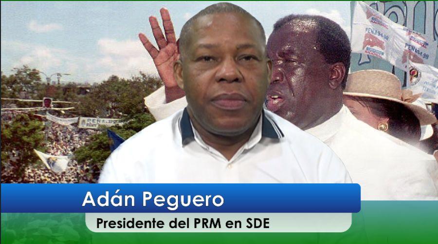 Adán Peguero revela lo que él habría hecho si delante suyo insultan a Peña Gómez