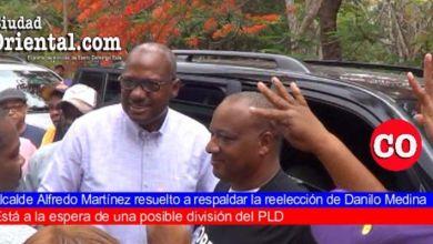 """Photo of Alfredo Martínez resuelto a respaldar reelección de Medina; pone a sus colaboradores leonelistas """"entre la espada y la pared"""""""