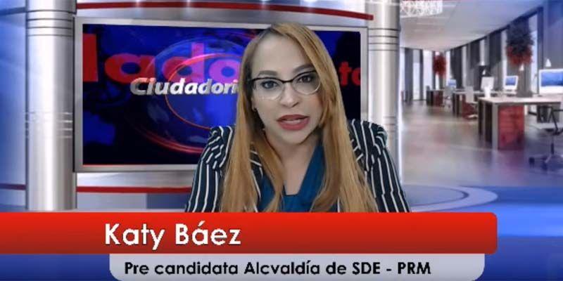 Katy Báez descarta cualquier posibilidad de que puedan reservarle la candidatura a Manuel Jiménez
