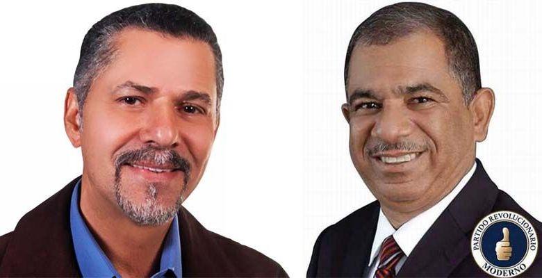Manuel Jiménez (i) y Jorge Frías
