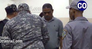 El ex concejal Pascual Aristy Novas Novas, puesto en custodia.