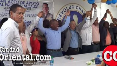 Photo of Gilberto Balbuena asume candidatura de Manuel Jiménez a la Alcaldía de SDE + Vídeos