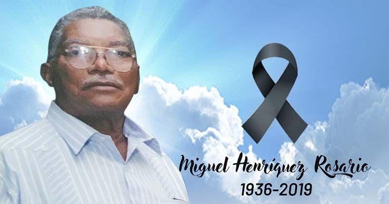 Miguel Henriquez, padre del diputado Luis Henriquez