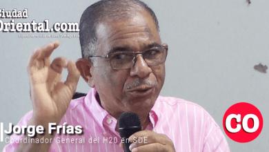 """Photo of Jorge Frías reduce el círculo y dice que el ASDE """"pertenece"""" al H20, a Dío Astacio y a Hipólito Mejía + Vídeo"""