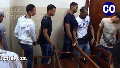 Los cinco condenados, luego de la sentencia.