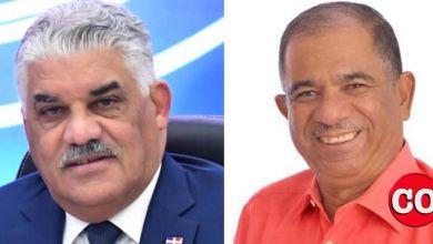 Miguel Vargas (i) y Jorge Frías