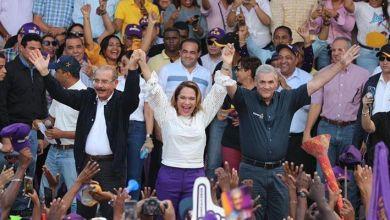 Photo of Medina y Castillo encabezan gran marcha caravana y juramentan candidatos municipales en SPM