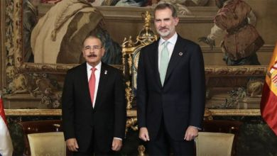Photo of Rey de España Felipe VI recibe al presidente Danilo Medina, en Palacio Real de Madrid