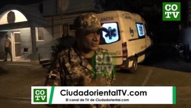 Photo of ¿Llegó el coronavirus a Los Tres Brazos? Llevan una persona con síntomas al cuartel de ese barrio + Vídeo
