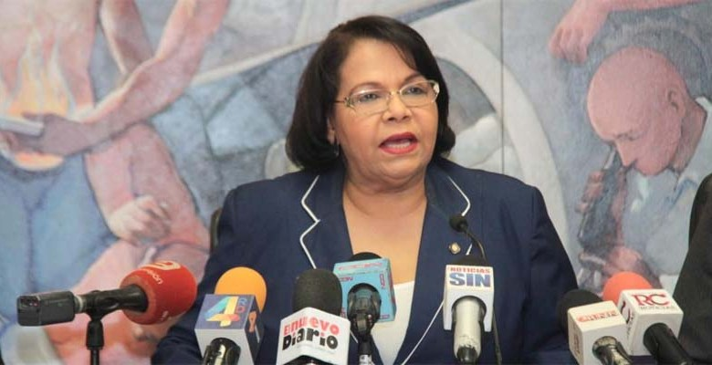 Enma Polanco, Rectora de la UASD
