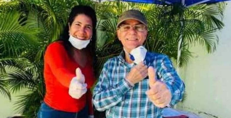 Evelyn Fernández y Manuel Jiménez