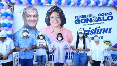Photo of Gonzalo Castillo y la senadora Cristina Lizardo suman apoyos de distintos sectores de la provincia Santo Domingo