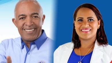 Bertico Santana y Yokasta Contreras