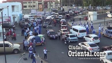 Photo of Caótica y con pírrico final caravana en SDE del PRM encabezada por Taveras Guzmán y Manuel Jiménez + Vídeo