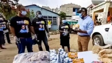 Photo of Gonzalo Castillo entrega raciones alimenticias y botiquines a familias de escasos recursos en SDN