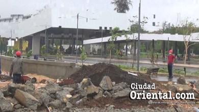 Photo of Ni la tormenta tropical Isaías logra detener trabajos de terminación de la parada de autobuses en el Parque del Este
