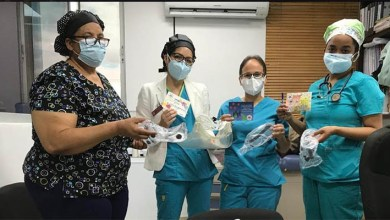 Photo of Niños envían notas de aliento al personal médico que tiene que enfrentarse al Covid-19