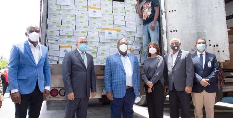 El Gabinete de Política Social entregó al MSP más de RD$ 12 MM en medicamentos.