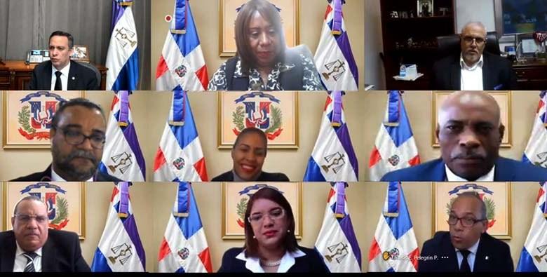 encuentro de los jueces de Puerto Plata.